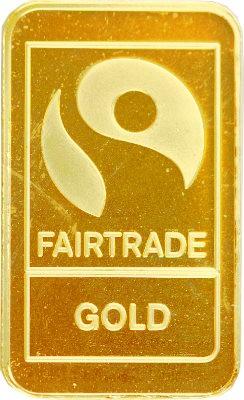 """Lingot 10g d'or fin - """"Fairtrade Gold"""""""
