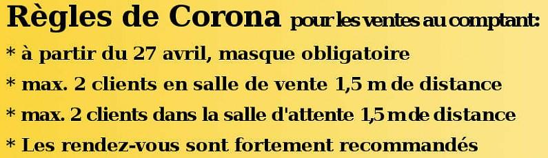 regles de Corona