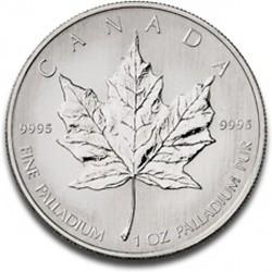 Maple Leaf 1 oz de palladium