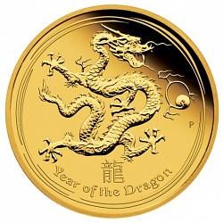 Les séries Lunar pour collectionner: Lunar II Dragon 1oz d'or