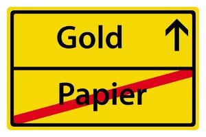L'or protége des épargnes: Quitter le papier, investir dans l'or