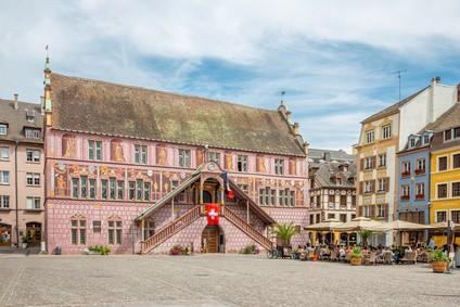 La mairie de Mulhouse