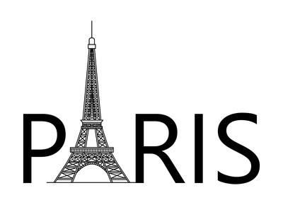 Paris avec la Tour Eiffel
