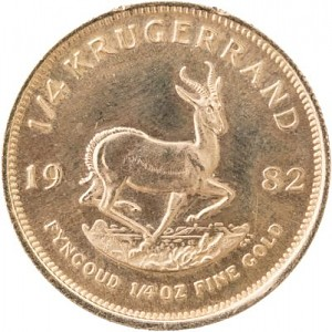 Krugerrand 1/4oz d'or fin
