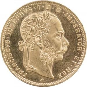8 Florins autrichiennes 5,81g d'or fin