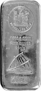 Fiji Argor Heraeus lingot 1kg d'argent fin
