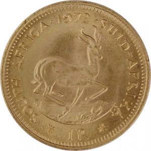 1 Rand sud-africain 3,66g d'or fin
