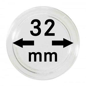 Capsules pour monnaies 32mm, 1 pièce