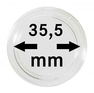 Capsules pour monnaies 35,5mm, 1 pièce