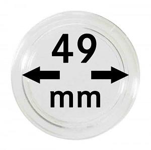 Capsules pour monnaies 49mm, 1 pièce