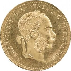 1 Ducat autrichienne 3,44g d'or fin