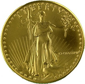 US Eagle 1oz d'or fin