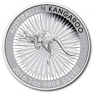 Kangourou Australien 1oz d'Argent - Deuxième Choix