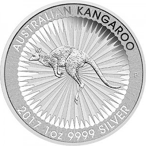 Kangourou Australien 1oz d'Argent
