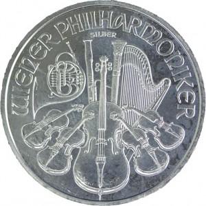 Philharmonique de Vienne 1oz d'Argent - Deuxième Choix