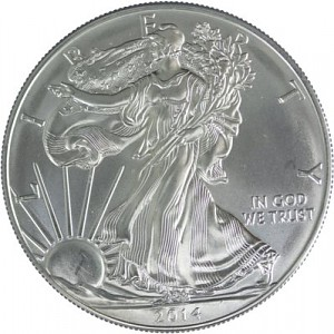 American Eagle 1oz d'Argent - Deuxième Choix