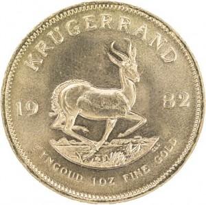Krugerrand 1oz d'or fin - Deuxième Choix