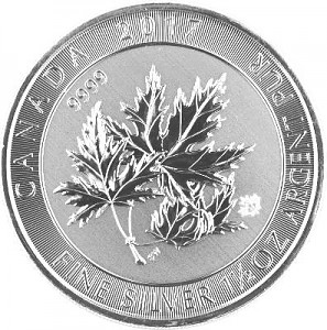 Multi Maple Leaf 1,5oz d'Argent (Super Leaf) - 2017