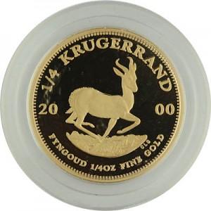 Krugerrand 1/4oz d'or fin Proof - 2000