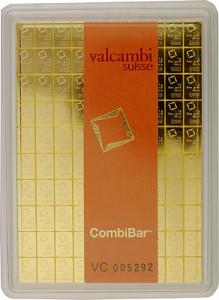 Lingot - CombiBar 100g (100x 1g) d'or fin