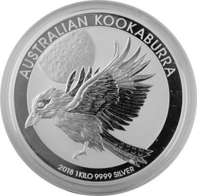 Kookaburra 1kg Dargent Fin 2018 Edelmetalle Direkt