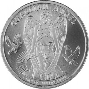 Niue Guardian Angel 1oz d'argent fin - 2017