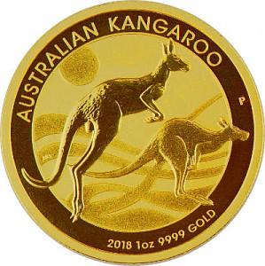 Australian Kangourou 1oz d'or fin - 2018