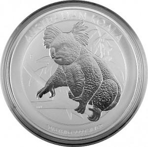 Koala 1kg d'argent fin - 2018