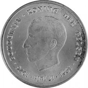 250 Franc Belgique 22,88 g d'argent - 1976