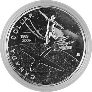 1 Dollar Canadien Célébrant Thayendanegea 23,28g d'Argent fin - 2009 Preuve