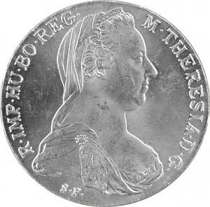 Thaler de Marie-Thérèse 23,38g d´argent)