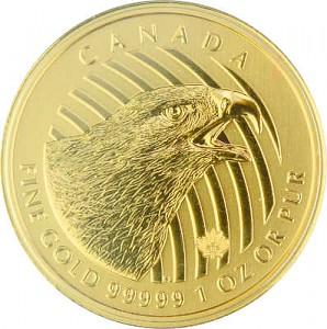 Call of the Wild - Aigle Royal 1oz d'Or fin - 2018