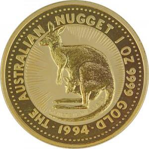 Australian Kangourou 1oz d'or fin - 1994
