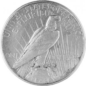 1 US Peace Dollar 24,05g d´argent -1921-1928,1934,1935