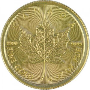Maple Leaf 1/4oz d'or fin - 2019