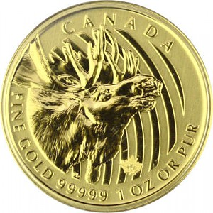 Call of the wild Élan 1oz d'or fin - 2019