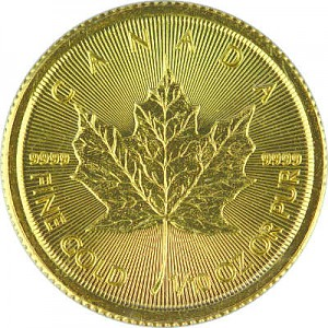 Maple Leaf 1/10oz d'or fin - 2019