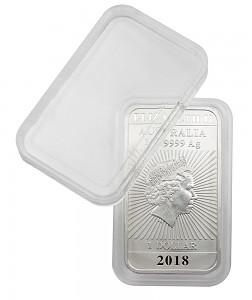 Capsules pour monnaies 27x47mm Rectangular Dragon Australie, 1 pièce
