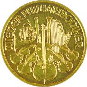 Philharmonique de Vienne 1/10oz d'or fin - 2019