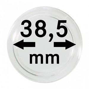 Capsules pour monnaies 38,5mm, 1 pièce