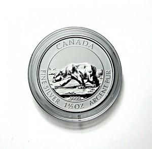 Capsules pour monnaies 38,4mm pour toutes les pièces de monnaie 1,5oz d'argent Canadien 1 pièce