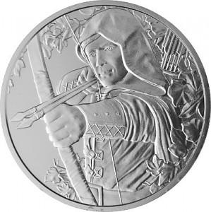 Autriche Robin Hood 1oz d'Argent - 2019