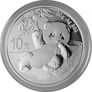 Panda Chinois 30g d'Argent - 2020