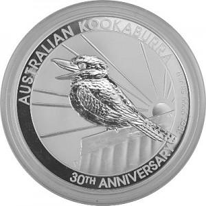 Kookaburra 10oz d'argent fin - 2020