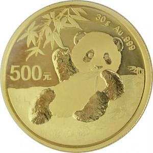 Chine Panda 30g d'or fin - 2020