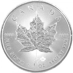 Maple Leaf 1oz d'Argent - 2020