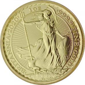 Britannia 1oz d'or fin - 2020