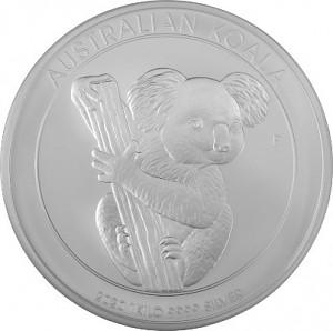 Koala 1kg d'argent fin - 2020