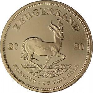 Krugerrand 1oz d'or fin - 2020