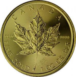 Maple Leaf 1oz d'or fin - 2020